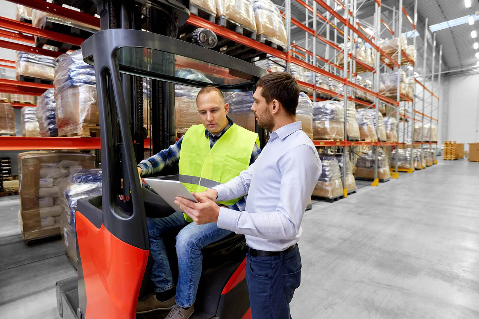 Cargo flow through better supply chain visibility, control.